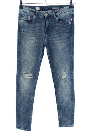 Tommy Hilfiger Skinny Jeans blau Street-Fashion-Look