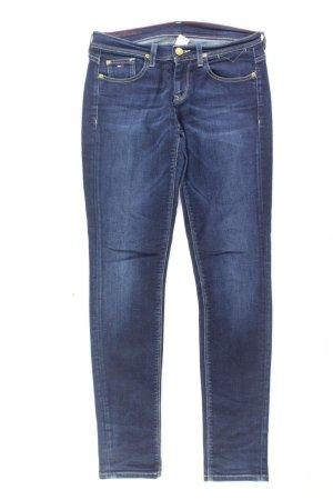 Tommy Hilfiger Jeans skinny bleu-bleu fluo-bleu foncé-bleu azur coton