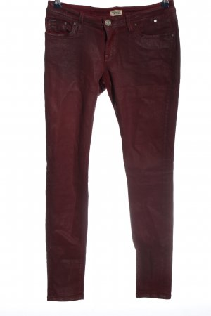 Tommy Hilfiger Slim Jeans rot Casual-Look