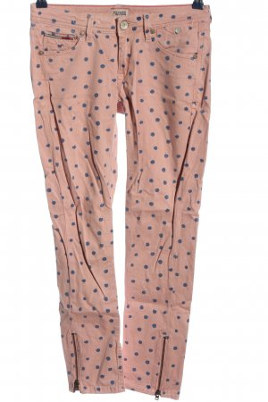 Tommy Hilfiger Slim Jeans pink-blau Allover-Druck Casual-Look