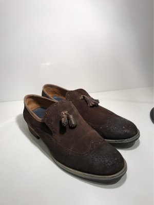 Tommy Hilfiger Wingtip Shoes brown