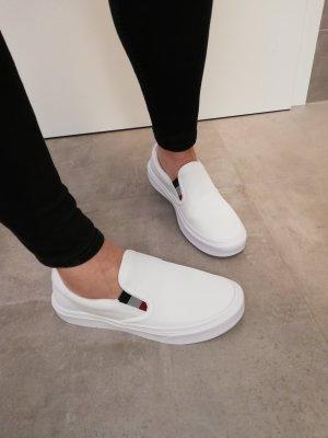 Tommy Hilfiger Slipper Sneaker weiß Neu 45