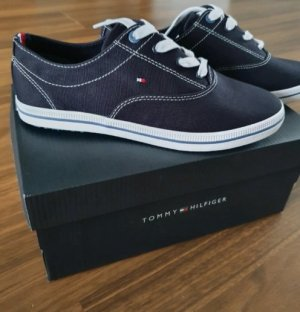 Tommy Hilfiger Sneaker stringata bianco-nero