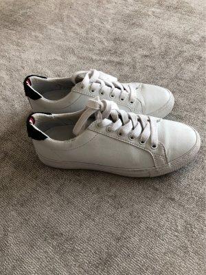 Tommy Hilfiger Zapatos de patinador blanco