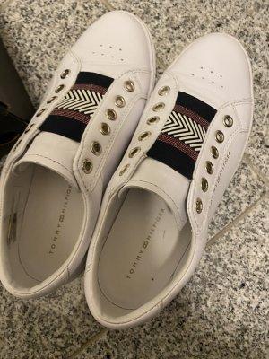 Tommy Hilfiger Sneakers met veters wit