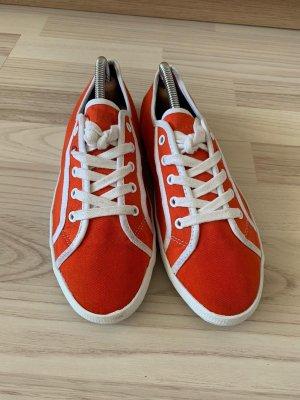 Tommy Hilfiger Sneakers met veters oranje