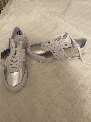 Tommy Hilfiger Sneaker stringata bianco-argento