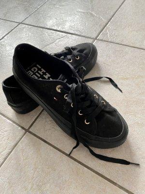 Tommy Hilfiger Lace-Up Sneaker black