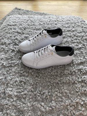 Tommy Hilfiger Sneakers weiß, gold, schwarz