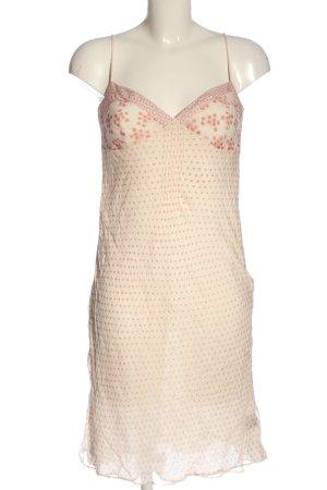 Tommy Hilfiger Letnia sukienka kremowy-czerwony Wzór w kwiaty W stylu casual