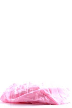 Tommy Hilfiger Sommerschal pink-weiß grafisches Muster Casual-Look