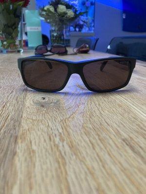 Tommy Hilfiger Kwadratowe okulary przeciwsłoneczne khaki