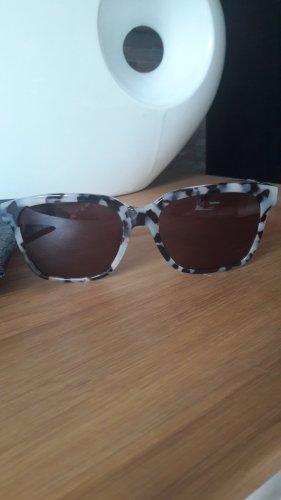 Tommy Hilfiger Occhiale da sole spigoloso nero-grigio chiaro