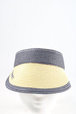 Tommy Hilfiger Sombrero de ala ancha azul-blanco puro look casual