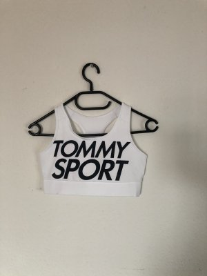 Tommy Sport Top bustino bianco