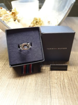 Tommy Hilfiger Statement Ring Silber Chain