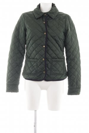 Tommy Hilfiger Quilted Jacket khaki quilting pattern casual look