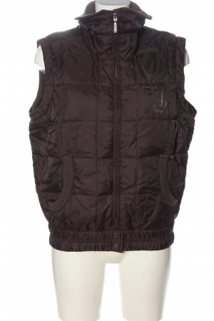 Tommy Hilfiger Steppweste braun Steppmuster Casual-Look