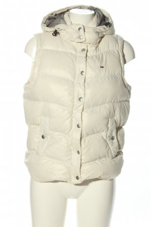 Tommy Hilfiger Quilted Gilet natural white quilting pattern casual look