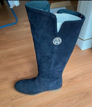 Tommy Hilfiger Slouch Boots dark blue