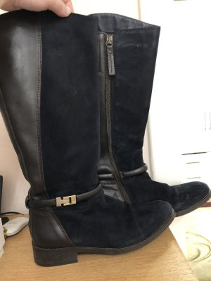 Tommy Hilfiger Stiefel Blau/Braun Größe 38