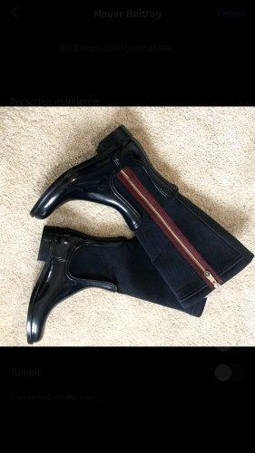 Tommy Hilfiger Stretch Boots purple-dark blue