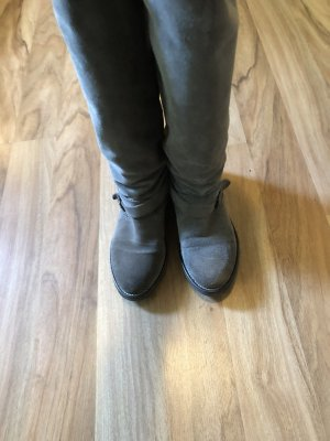 Tommy Hilfiger Riding Boots beige-grey brown