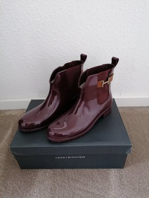 Tommy Hilfiger Wellies blackberry-red