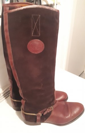 Tommy Hilfiger Riding Boots brown-brown red