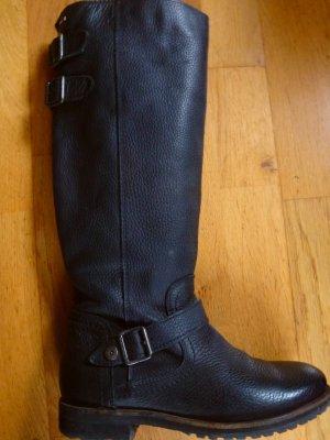 Tommy Hilfiger Stiefel Leder 37 Profilsohle