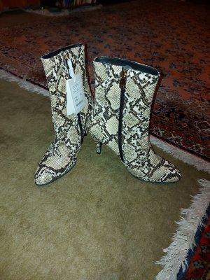 Tommy Hilfiger Laarzen met hoge hakken bruin-room