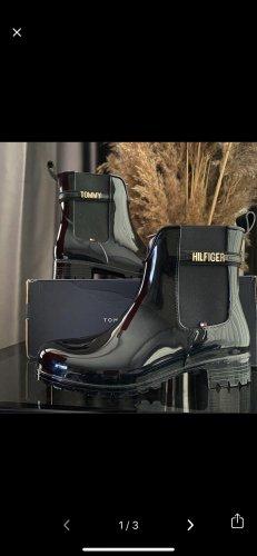 Tommy Hilfiger Botas de agua negro