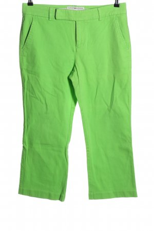 Tommy Hilfiger Stoffhose grün Casual-Look