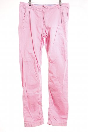 Tommy Hilfiger Stoffhose rosa Street-Fashion-Look