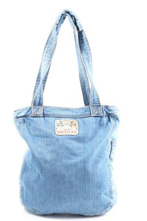 Tommy Hilfiger Stofftasche blau Casual-Look