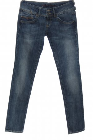 Tommy Hilfiger Straight-Leg Jeans blau Street-Fashion-Look