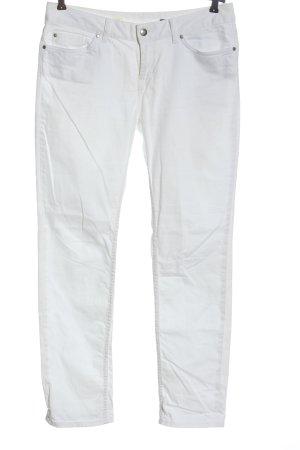 Tommy Hilfiger Slim Jeans weiß Streifenmuster Casual-Look