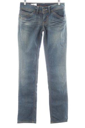 Tommy Hilfiger Straight-Leg Jeans blau Used-Optik