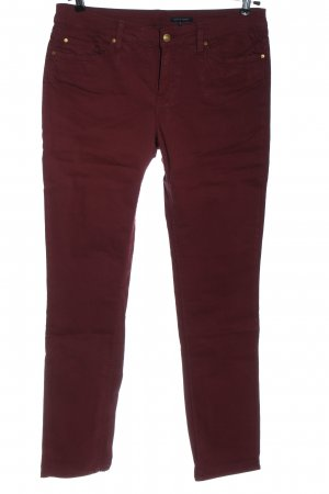 Tommy Hilfiger Straight-Leg Jeans rot Casual-Look