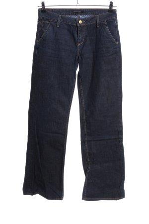 Tommy Hilfiger Jeans a gamba dritta blu stile casual