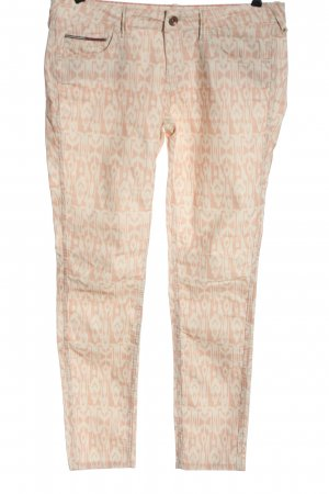 Tommy Hilfiger Slim Jeans nude-weiß Allover-Druck Casual-Look