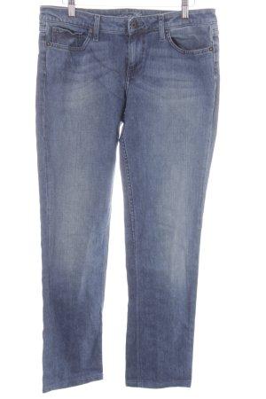 Tommy Hilfiger Straight-Leg Jeans dunkelblau-graublau Casual-Look