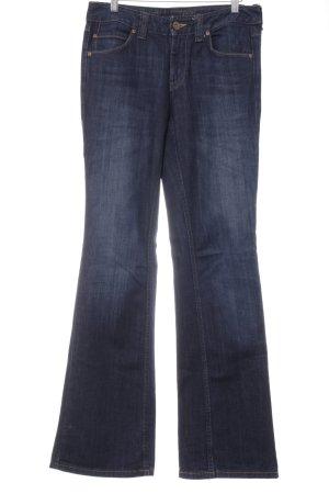 Tommy Hilfiger Straight-Leg Jeans dunkelblau Washed-Optik