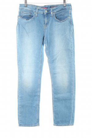 Tommy Hilfiger Straight-Leg Jeans himmelblau Casual-Look