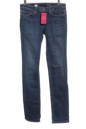 Tommy Hilfiger Straight-Leg Jeans stahlblau Casual-Look