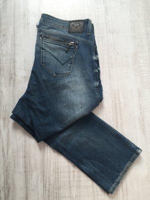 Tommy Hilfiger Straight Leg Jeans Victoria Preppy Zip W32/L32 Neu