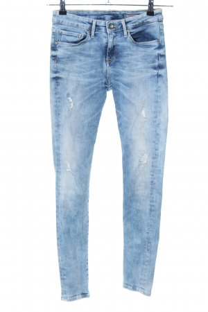 Tommy Hilfiger Stretch jeans blauw casual uitstraling