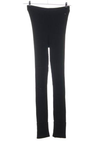 Tommy Hilfiger Pantalone elasticizzato nero stile casual