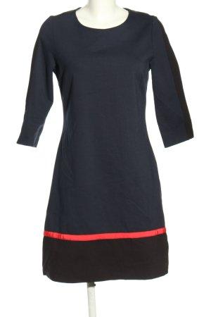 Tommy Hilfiger Stretchkleid schwarz-rot Casual-Look