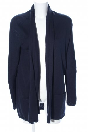 Tommy Hilfiger Strick Cardigan blau Casual-Look